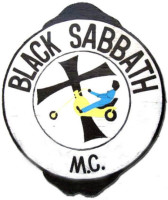 "Black Sabbath Motorcycle Club Colors ""Turtle Shell"""